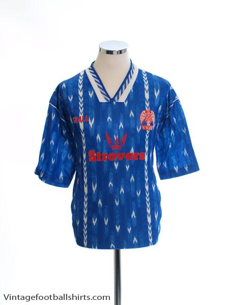 1993-94 Colchester Home Shirt L