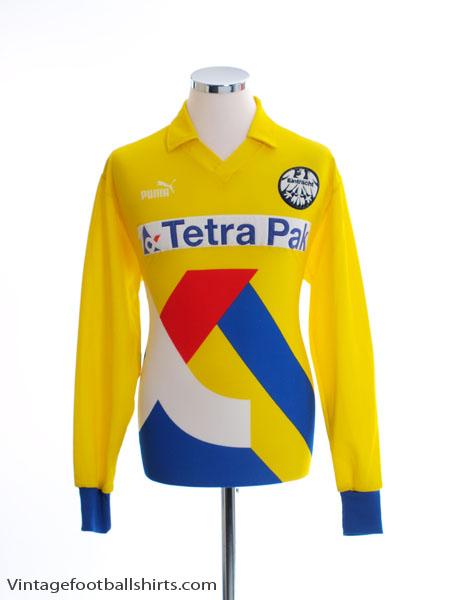 1993-94 Eintracht Frankfurt Away Shirt L/S M