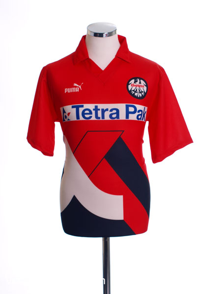 1993 94 eintracht frankfurt home shirt s for sale. Black Bedroom Furniture Sets. Home Design Ideas
