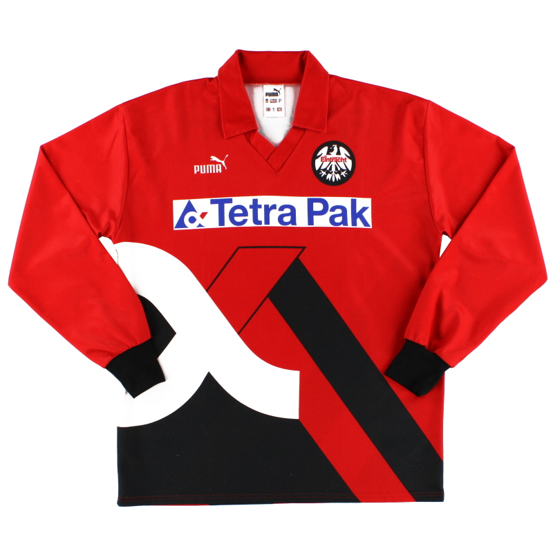 1993 94 eintracht frankfurt home shirt l s xl for sale. Black Bedroom Furniture Sets. Home Design Ideas
