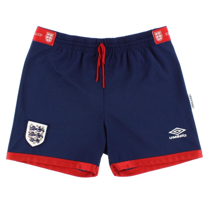 1993-94 England Home Shorts M