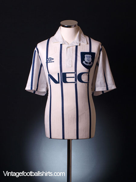 1993-94 Everton Third Shirt L