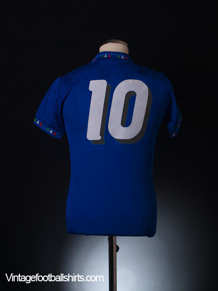 1993-94 Italy Home Shirt #10 *BNWT* L.Boys