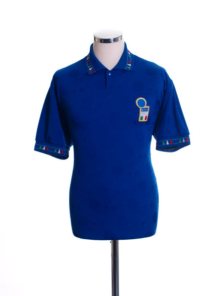 1993-94 Italy Home Shirt #10 Y - 101452