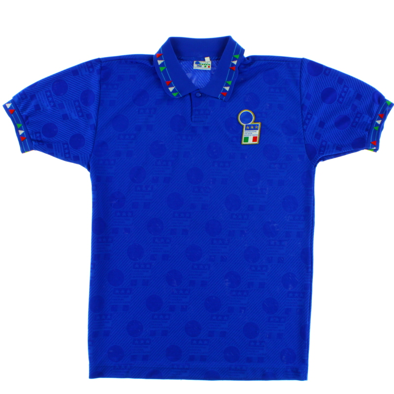 1993-94 Italy Home Shirt L - 101452