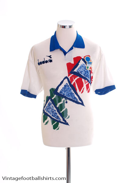 1993-94 Italy Training Shirt *Mint* XL