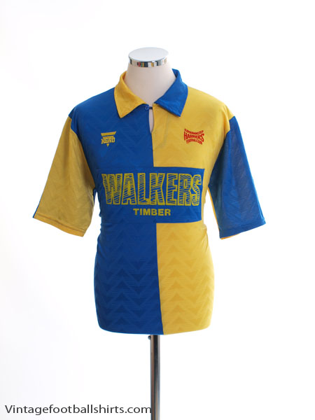 1993-94 Kidderminster Harriers Away Shirt L