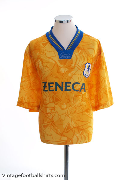 1993-94 Macclesfield Away Shirt L