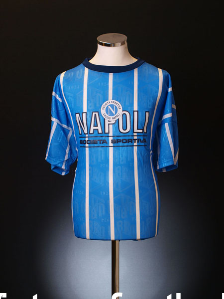 1993-94 Napoli Umbro T-Shirt *BNWT* L