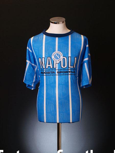 1993-94 Napoli Umbro T-Shirt *BNWT* XL