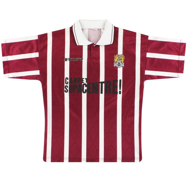 1993-94 Northampton Home Shirt M
