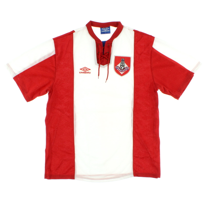 1993-94 Oldham Umbro Away Shirt L