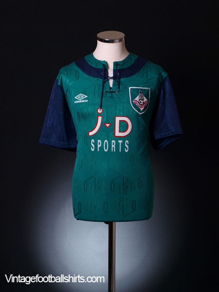 1993-94 Oldham Third Shirt XL