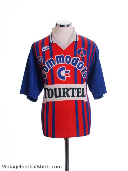 1993-94 Paris Saint-Germain Home Shirt L