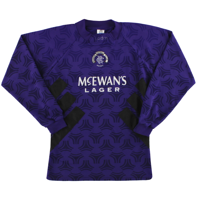 1993-94 Rangers adidas Goalkeeper Shirt S