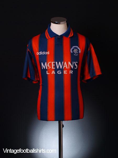 1993-94 Rangers Away Shirt L for sale