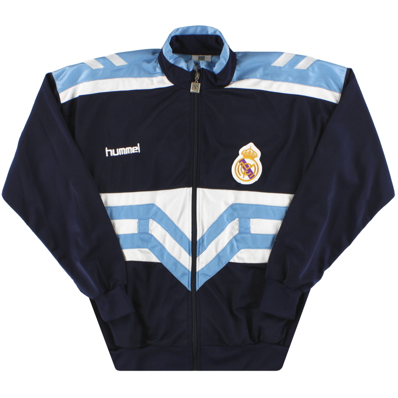 1993-94 Real Madrid Hummel Track Jacket M