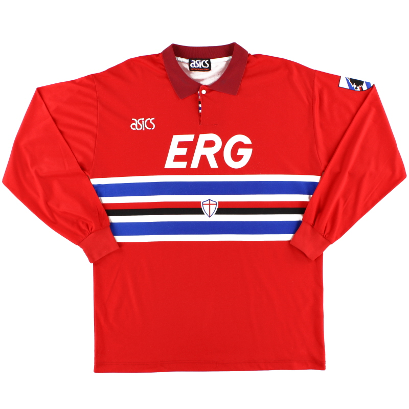 1993-94 Sampdoria Third Shirt L/S L