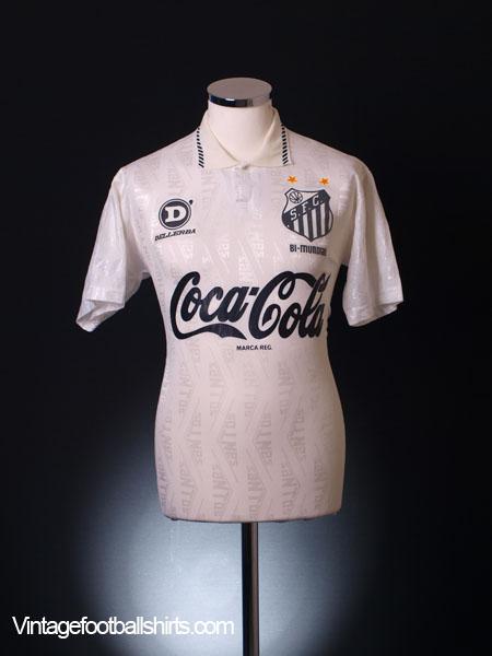 1993-94 Santos Home Shirt M