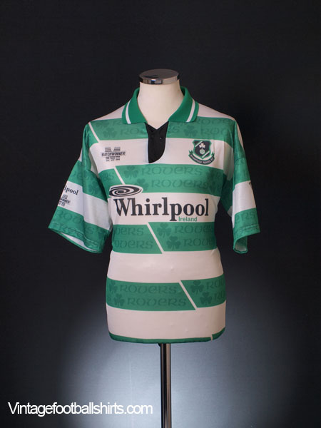 1993-94 Shamrock Rovers Home Shirt L
