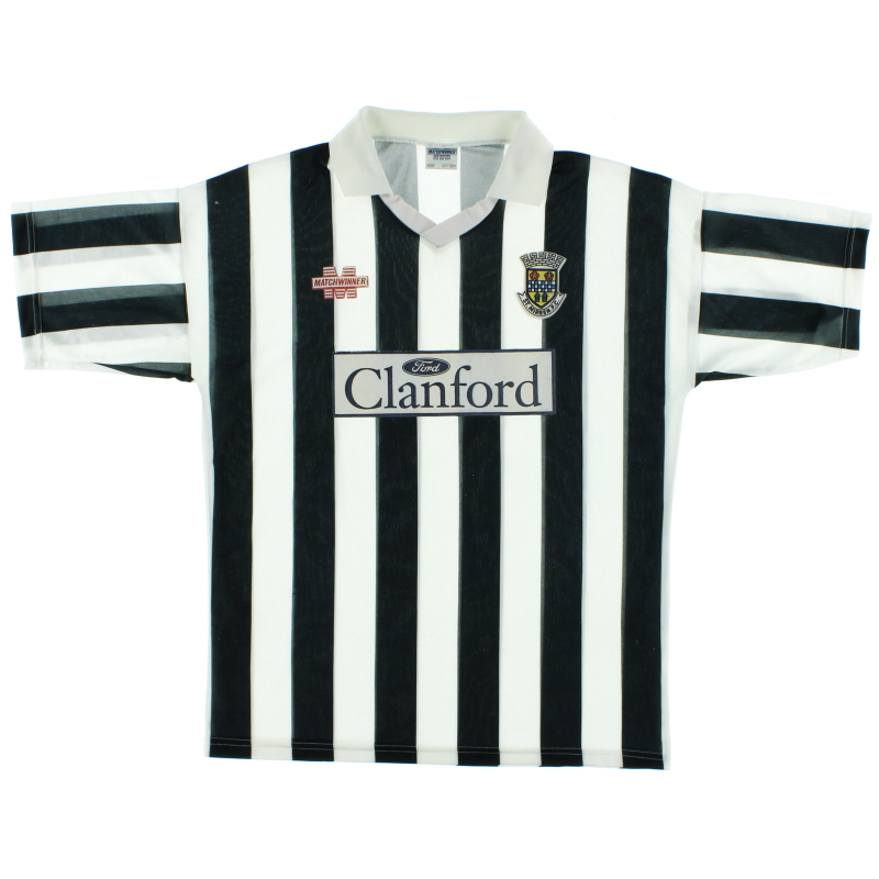 1993-94 St Mirren Home Shirt L