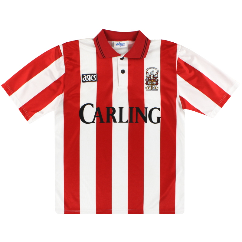 1993-94 Stoke City Asics Home Shirt M
