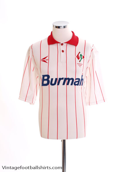 1993-94 Swindon Town Third Shirt *As New* L