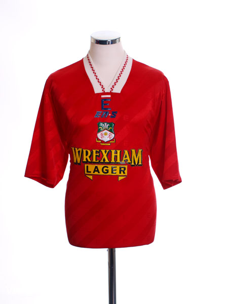 1993-94 Wrexham Home Shirt L