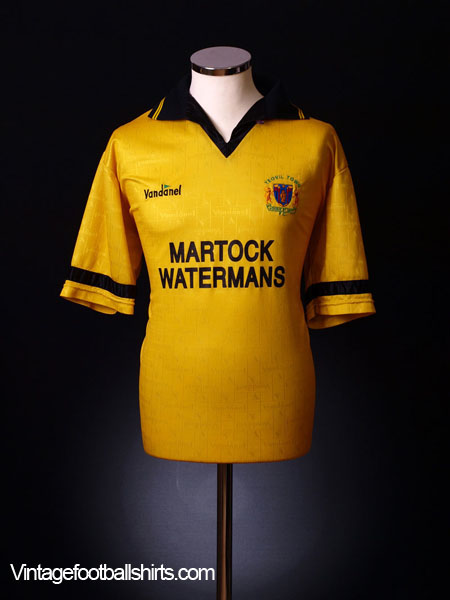 1993-94 Yeovil Town Away Shirt (Mint) XL