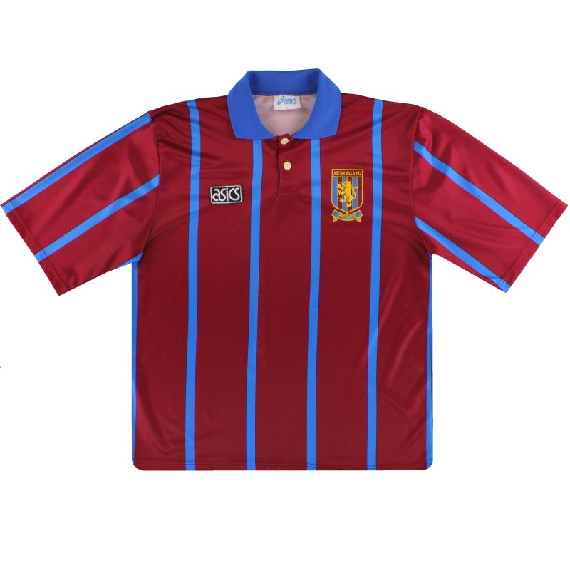 1993-95 Aston Villa Asics Home Shirt XL