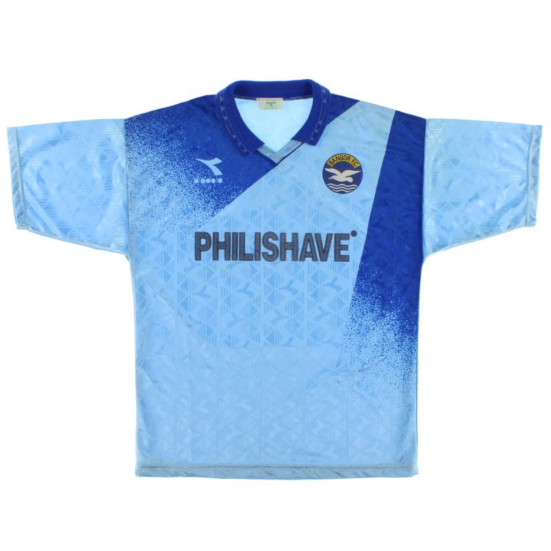 1993-95 Bangor FC Away Shirt L
