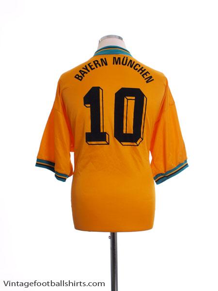 1993-95 Bayern Munich Away Shirt #10 XL