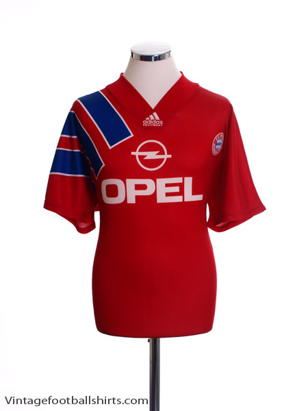 1991-93 Bayern Munich Home Shirt L