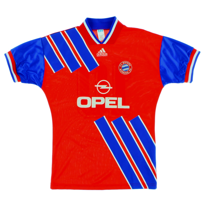 1993-95 Bayern Munich Home Shirt #10 S