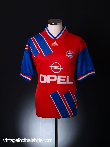 1993-95 Bayern Munich Home Shirt L.Boys