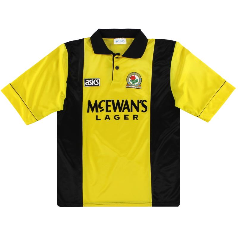 1993-95 Blackburn Asics Third Shirt L
