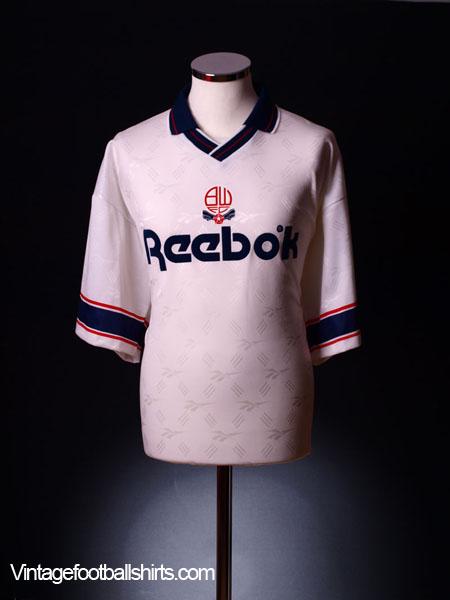 1993-95 Bolton Home Shirt L