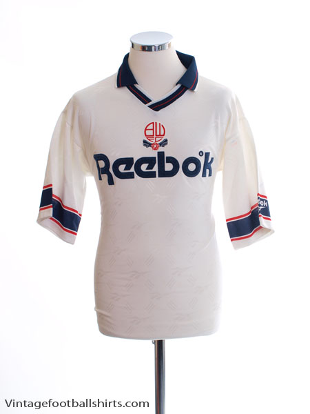 1993-95 Bolton Home Shirt S