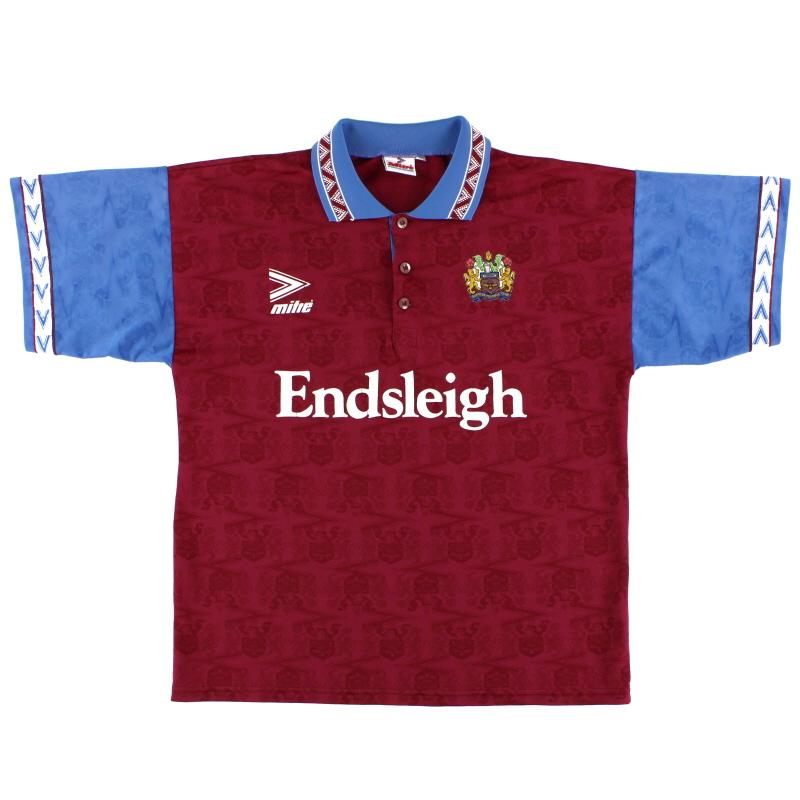 1993-95 Burnley Mitre Home Shirt L