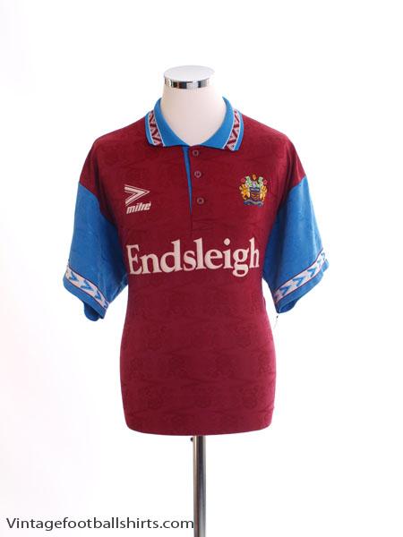 1993-95 Burnley Home Shirt XL