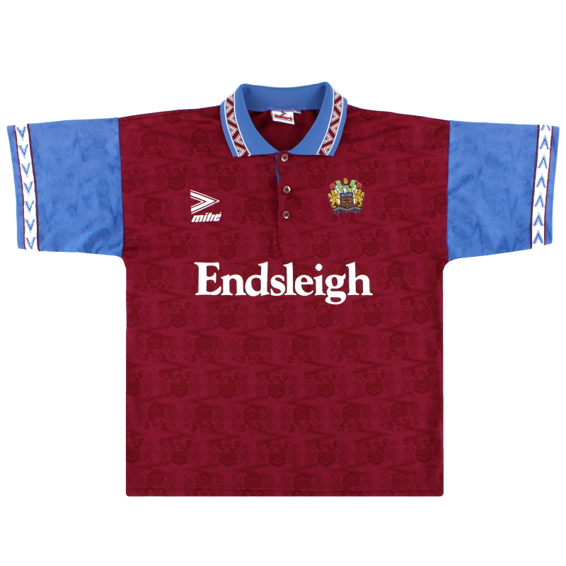 1993-95 Burnley Mitre Home Shirt M