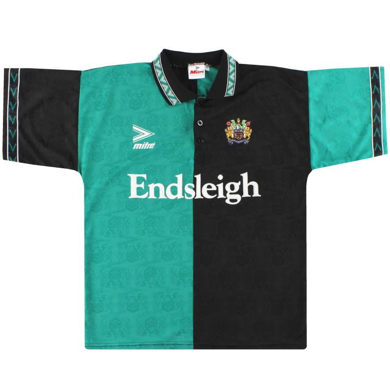 1993-95 Burnley Mitre Third Shirt L