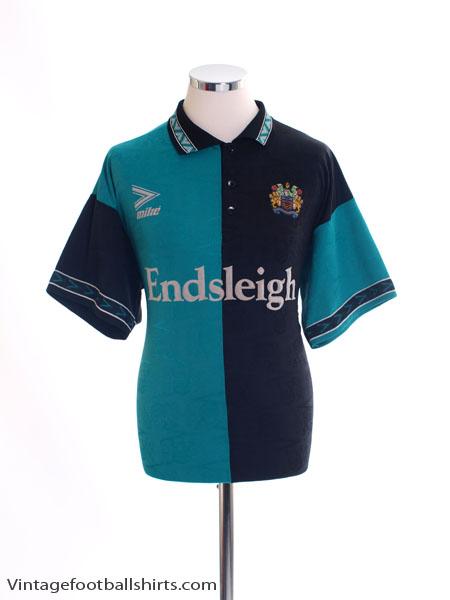 1993-95 Burnley Third Shirt L