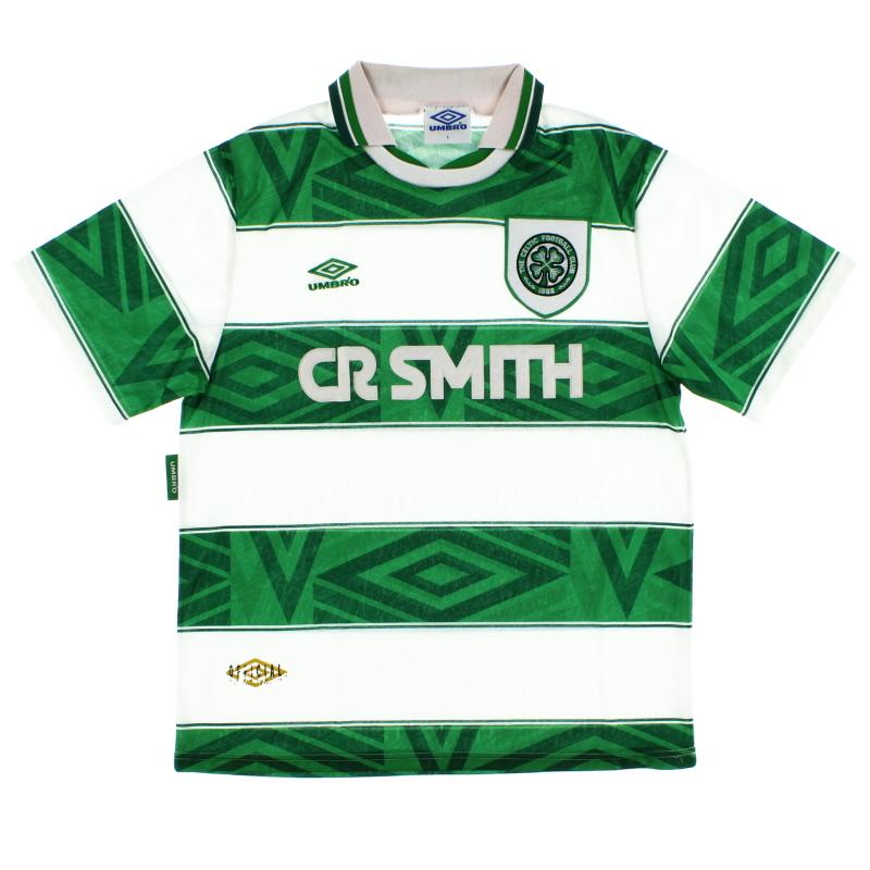 1993-95 Celtic Umbro Home Shirt L