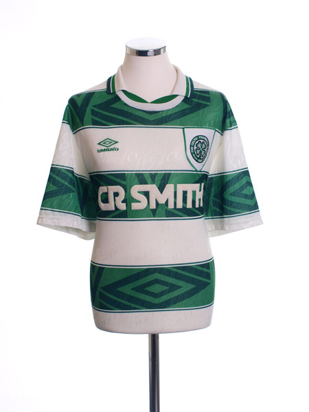1993-95 Celtic Home Shirt L