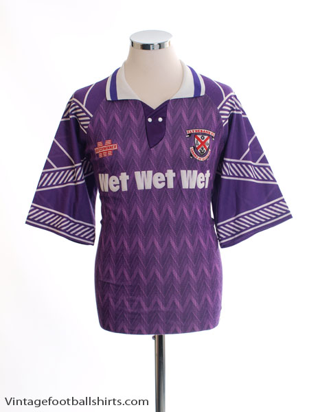1993-95 Clydebank Away Shirt L