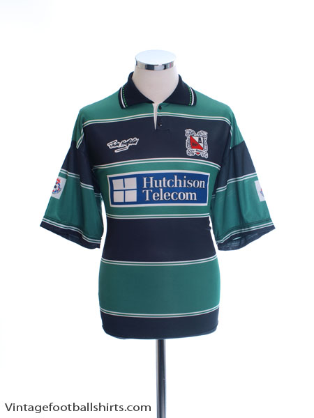 1993-95 Darlington Away Shirt *Mint* L