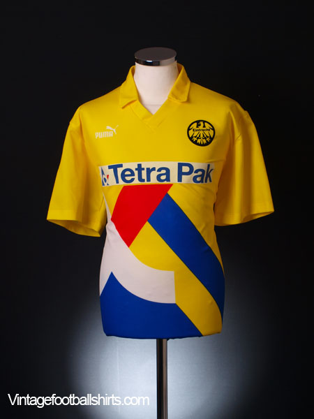 1993 95 eintracht frankfurt away shirt l for sale. Black Bedroom Furniture Sets. Home Design Ideas