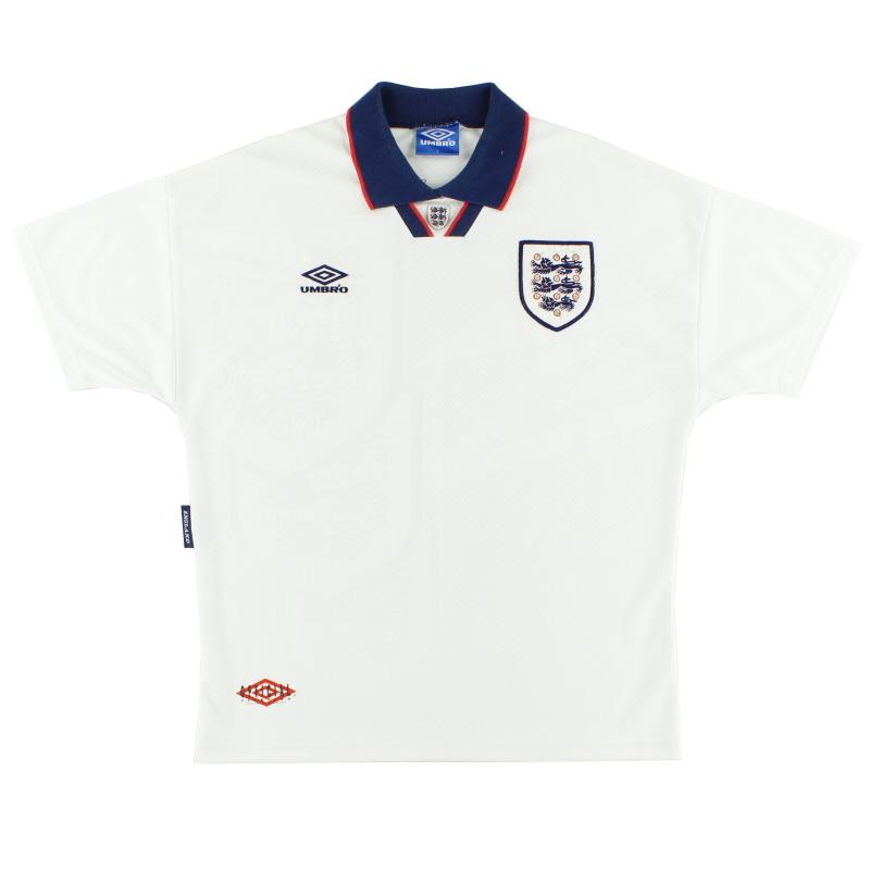 1993-95 England Home Shirt XL