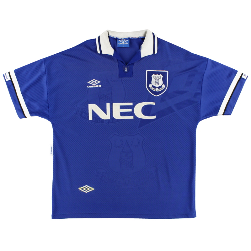 1993-95 Everton Home Shirt XL